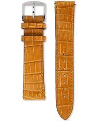Gucci Correa de piel de caimán reloj Grip, 38 mm - Multicolor
