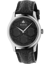 Gucci G-timeless Watch, 38mm - Black