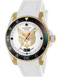 Gucci Dive-uhr, 40 mm - Gelb