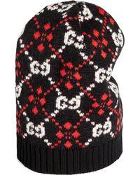 Gucci - Cappello con motivo GG diamanti - Lyst