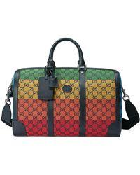 Gucci Sac de voyage GG Multicolor - Jaune