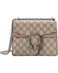 Gucci Dionysus GG Supreme Mini Bag - Natural