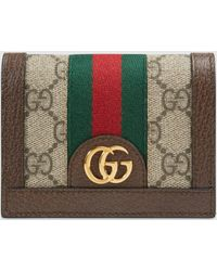 Gucci - グッチdiy 〔オフィディア〕GG カードケース ウォレット(コイン&紙幣入れ付き) - Lyst
