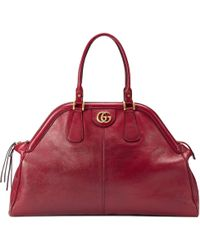 Gucci Mittelgroßer Shopper mit Henkeln RE(BELLE) - Rot