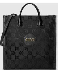 Gucci 【公式】 (グッチ) Off The Grid ロングトートバッグブラック GG Econyl®ブラック