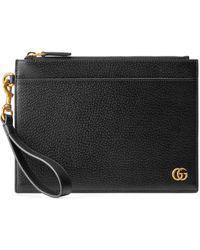 Gucci Pochette GG Marmont - Noir