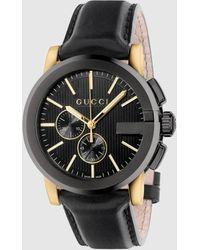 Gucci G-Chrono Uhr, 44mm - Schwarz