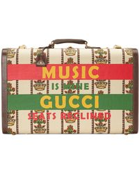 Gucci 100 Large Suitcase - White
