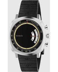 Gucci Grip Uhr, 40 mm - Schwarz