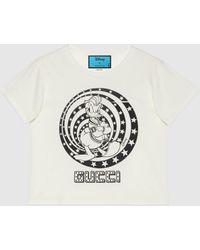 Gucci - グッチdisney(ディズニー)x ドナルドダック Tシャツ - Lyst