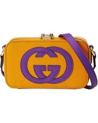 Gucci Minibolso con GG - Amarillo