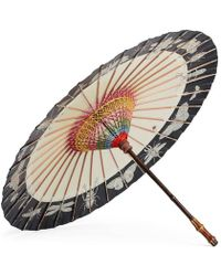 Gucci Insects Print Chinese Umbrella - Natural