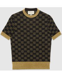 Gucci - GGパターン ウール トップ - Lyst