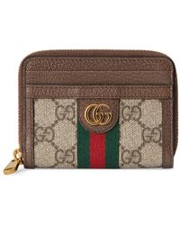 Gucci - Ophidia GG Card Case Wallet - Lyst