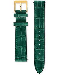 Gucci Grip Armband aus Alligatorleder, 35 mm - Grün