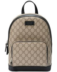 Gucci - Gg Supreme Small Backpack - Lyst