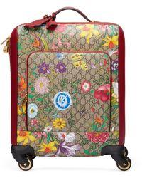 Gucci Trolley GG Flora - Neutro