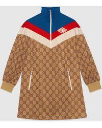 Gucci - グッチGGテクニカルジャージー ドレス - Lyst