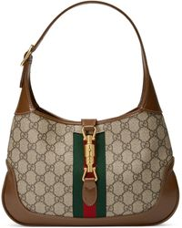 Gucci Jackie 1961 Small Shoulder Bag - Natural