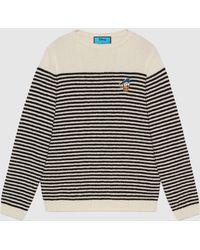 Gucci - グッチドナルドダック ストライプ ウール セーター - Lyst