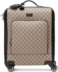 Gucci GG Supreme Carry-on - Natural