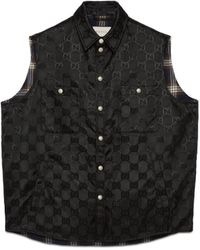 Gucci Off The Grid Vest - Black