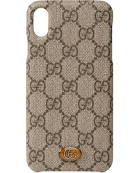 Gucci Ophidia iPhone XS Max-Hülle - Natur