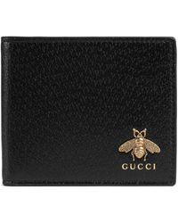 Gucci Portafoglio Animalier - Nero