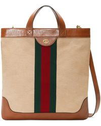 eeef855ab901 Lyst - Gucci Tote Bag - Vintage in Black