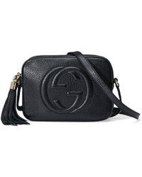 Gucci - Soho Leather Disco Shoulder Bag - Lyst
