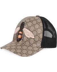 Gucci Gorra de Béisbol GG Supreme con Estampado de Abeja - Neutro