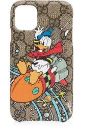 Gucci Disney X Donald Duck Iphone 11 Case - Natural