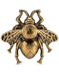 Gucci - Bee Ring With Enamel - Lyst