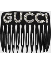Gucci - グッチクリスタル グッチ ヘアコーム - Lyst