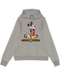 "Gucci ""Disney x "" Kapuzenpullover - Grau"
