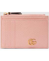 Gucci GG Marmont Kartenetui - Pink