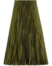 Gucci 2015 Re-Edition jupe plissée - Vert