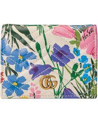 Gucci - Portefeuille porte-cartes GG à imprimé Ken Scott – Exclusivement en ligne - Lyst