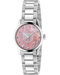 Gucci G-Timeless Uhr, 27 mm - Mettallic