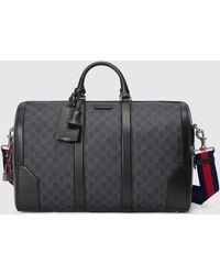 Gucci Reisetasche mit Monogrammmuster - Schwarz
