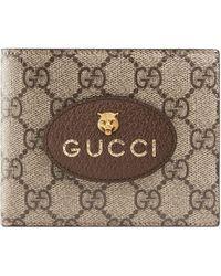 Gucci Portefeuille en toile suprême GG Neo Vintage - Neutre