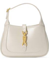 Gucci Jackie 1961 Mini Shoulder Bag - White