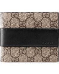 Gucci - Portafoglio in tessuto GG Supreme - Lyst c79970b77d0