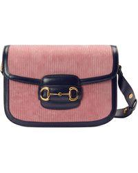 Gucci Kleine Horsebit 1955 Tasche - Pink