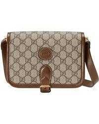 Gucci - Mini Shoulder Bag With Interlocking G - Lyst