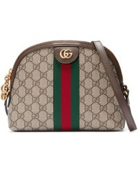 Gucci Sac à main Ophidia GG taille moyenne - Neutre