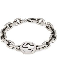 Gucci Interlocking G Bracelet - Metallic