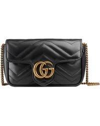 Gucci - Borsa Mini 'gg Marmont' - Lyst