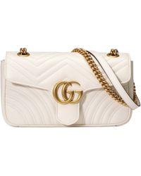 Gucci - Bandolera GG Marmont mini - Lyst
