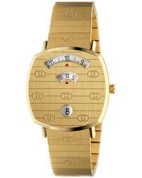 Gucci Grip Watch, 27 Mm - Metallic